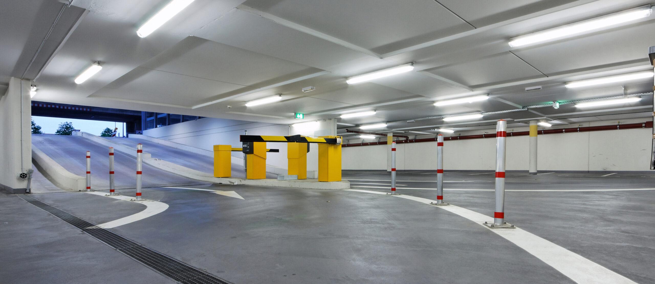 Réglettes LED parking